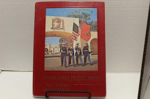Vintage Marine Corps Recruit Depot San Diego California Book