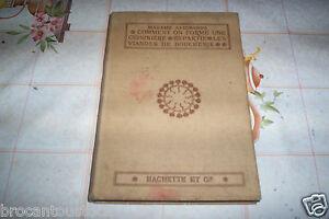 Vieux livre de cuisine sans date hachette et cie ebay for Vieux livre de cuisine