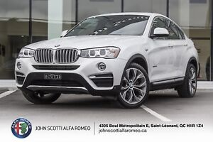 2015 BMW X4 2.8I, NAV, TECH, 360