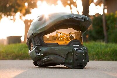 Halo Master Chief Wearable Helmet Full Size Spartan Cosplay Armor - Halo Armor Cosplay