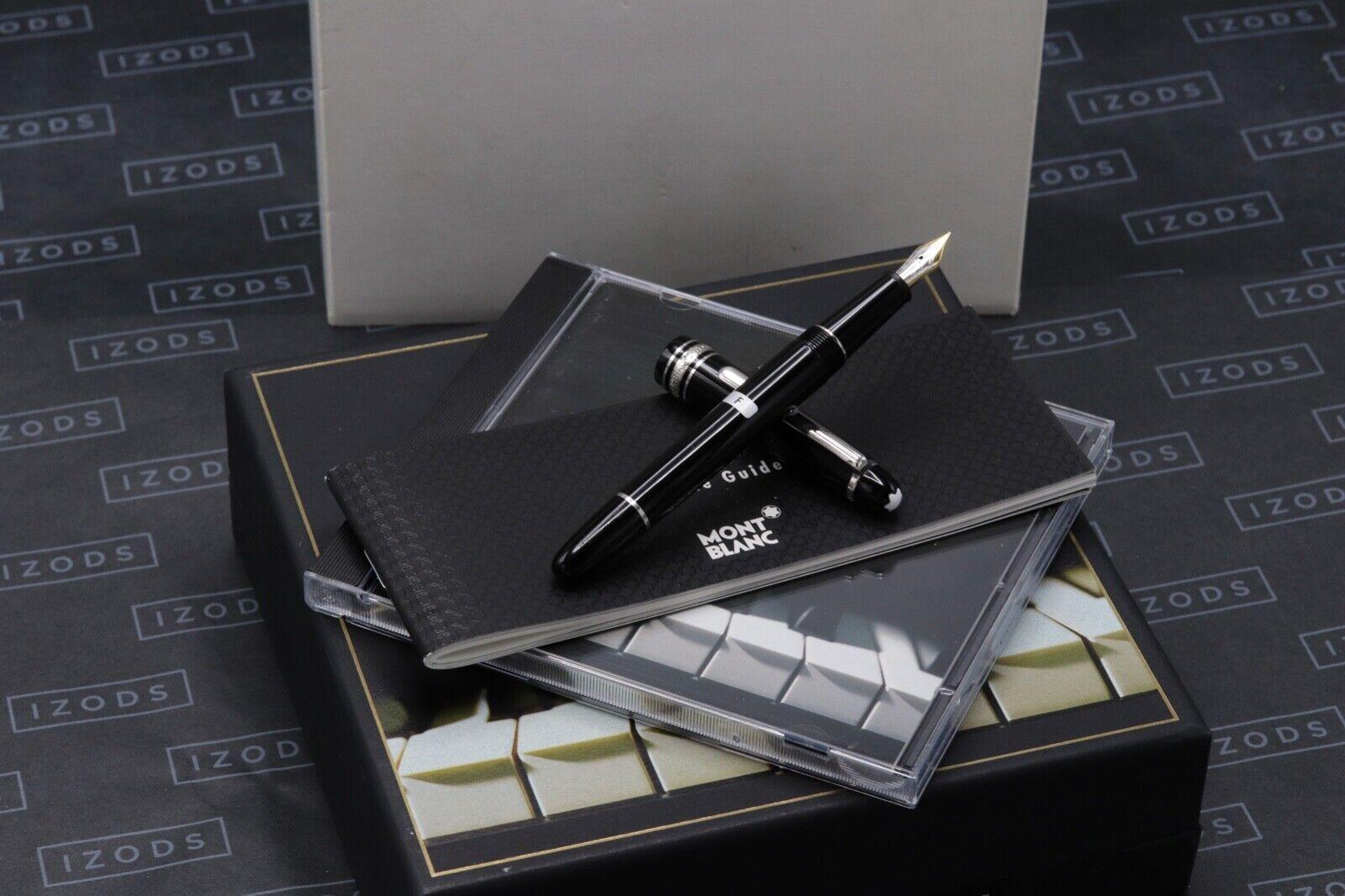 Montblanc Meisterstuck 145 Chopin Classique Platinum Line Fountain Pen