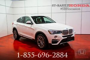 BMW X4 2016 XDRIVE28i + XLINE + ENSEMBLE TECHNO !!