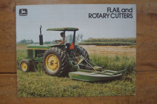 1977 John Deere Flail And Rotary Cutters Brochure