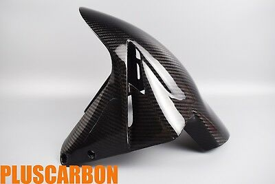 MV Agusta F4 2010+ Front Fender/ Front Mudguard Twill Carbon Fiber GLOSSY for sale  Shipping to Canada