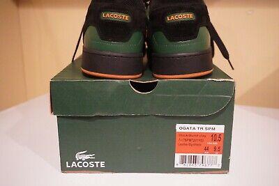 Lacoste men's shoes 10.5 us Black/Burnt Clay
