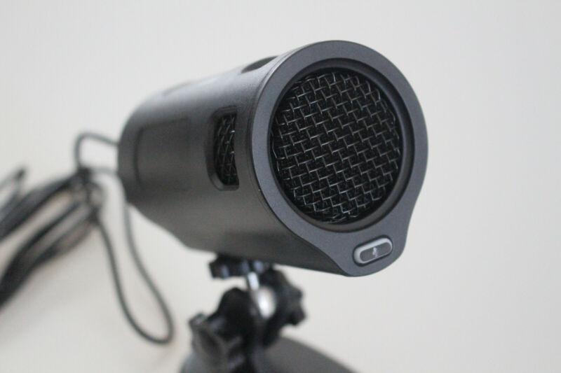 Blackweb Premium USB Recording Microphone With Cardioid Polar Pattern