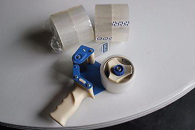 Uline 2 Industrial H150 Tape Dispenser Side Loader W5 Rolls Of Tape