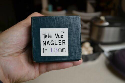 Tele Vue 13MM telescope eyepiece Televue NAGLER NOS original box Japan