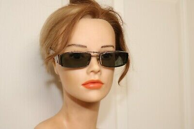 Versace Jeweled Sunglasses Men/Women Clip On Lenses $600+ Sun Glasses