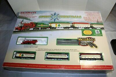 Bachmann Spirit of Christmas Electric Train Set NOT WORKING MISSING TENDER CAR