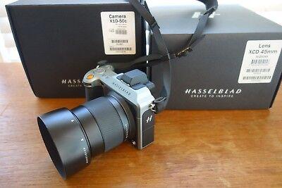 Hasselblad X1D-50c Medium Format Digital Camera w/ 45mm Lens Barely used on 1200