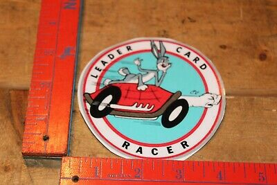 leader cards racer sticker indy 500 racing 1960's style roger ward bobby unser Indy 500 Racers