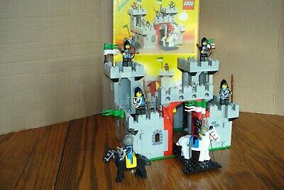 Vintage Lego Black Falcons Knight's Castle #6073 Complete w/ Instructions