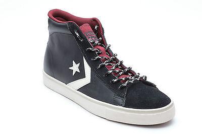 Scarpe sportive uomo Converse Pro leather Vulc 164040C Nero