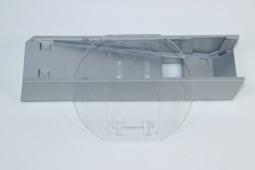GENUINE NINTENDO WII STAND BASE SILVER RVL-019 WITH CLEAR ROUND BASE RVL-017