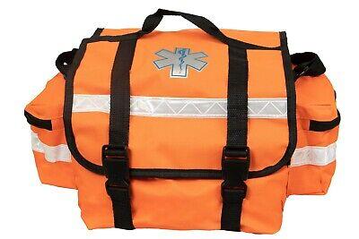 First Responder Paramedic Rescue Emt Trauma Bag Orange 17x 9x 7