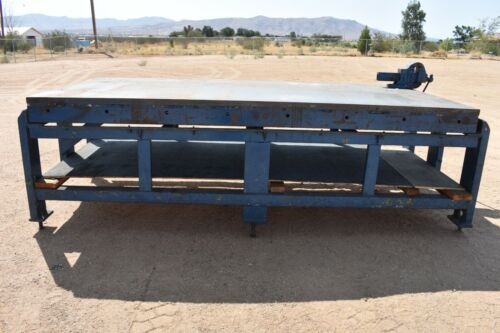 USED WELDING FABRICATION TABLE 9