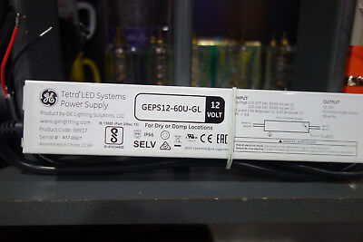 Ge Tetra Led Power Supply Geps12-60u-gl
