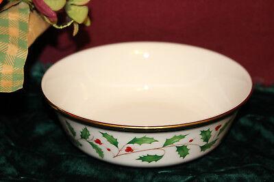 Lenox Holiday All Purpose Bowl - Lenox HOLIDAY Gold All Purpose Bowl NEW USA Free Shipping