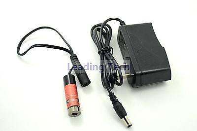 650nm 100mw 3v-5v Dot Shape Red Laser Diode Module 13x42mm Wus-plug Ac Adapter