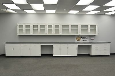 Laboratory 22 Base 17 Wall Furniture Cabinets Case Work -e1-072