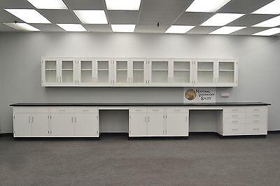Laboratory 22 Base 17 Wall Furniture Cabinets Case Work -e1-072