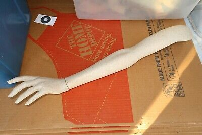 Vintage Mannequin Left Arm And Hand Good Shape Painted
