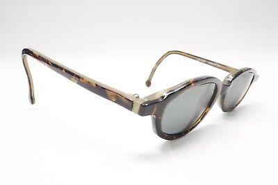 L.A. Eyeworks 1998 161 Rx Eyeglasses Frames Tortoise Brown Cat Eye 6221