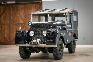 Land Rover 80 Serie I Oxford-Cambridge-Singapur Replika