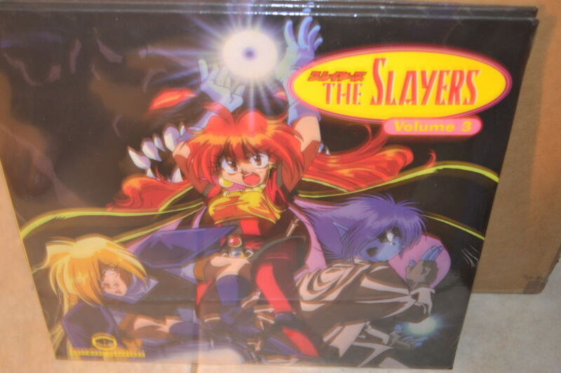 Slayers #3: Ep. 5-6 (1995) [NTSC/Bilingual] [SSLD-9653] Laserdisc