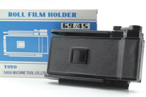 FedEx【EXC+5】 TOYO Roll Film Holder 69/45 6x9 For 4x5 Camera From JAPAN