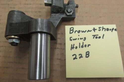 Brown & Sharpe swing tool holder