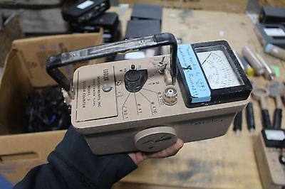 Ludlum 3 Geiger Counter Survey Meter