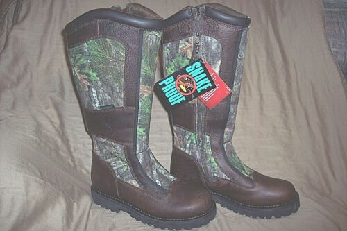Womens 10 Boots Snake Proof Boots Water Proof Boots Camo Hunting Boots Leather