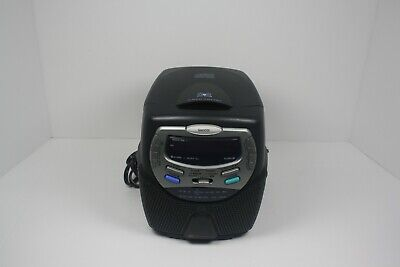 White Westinghouse CD Player Clock Radio Dual Alarm Model WCR-11440