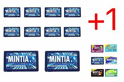 Asahi Mintia Strong Breath Mints: Cold Smash: 10+1 FREE Pack! (Frisk-style)