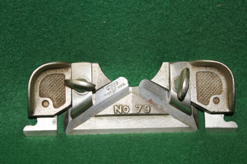 MINT NOS NEW OLD STOCK STANLEY SWEETHEART No. 79 SIDE RABBET PLANE  INV#NY35
