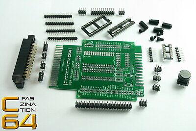 Faszination C64 | Breadboard Commodore 64 User- & Expansionport BAUSATZ | #1991