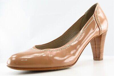 Attilio Giusti Leombruni Pumps Beige Patent Leather Women Sz 42 Medium (B, M) Beige Patent Leather Pumps