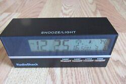 Radio Shack Brick Shaped Atomic Alarm Clock  63-246