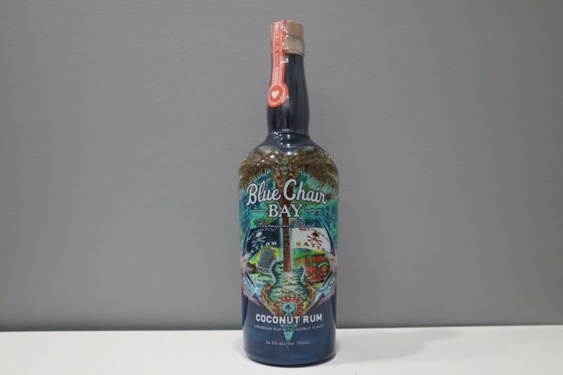 RARE NEW Kenny Chesney Blue Chair Bay Coconut Rum - 2018 Commemorative Bottle!🔥
