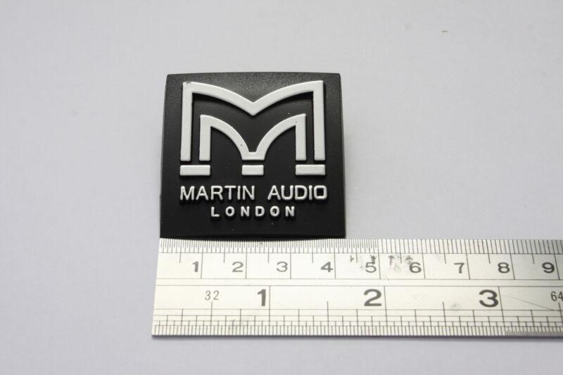 For Replacement MARTIN AUDIO 42mm Square Plastic Logo Badge