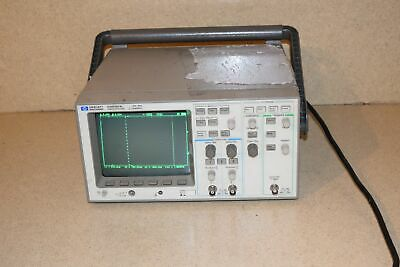 Hp Hewlett Packard 54600a Oscilloscope- 2 Channel Qqw