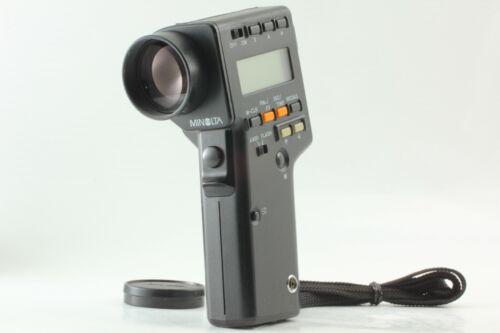 【NEAR MINT】 Minolta Spotmeter F Light Exposure Spot Meter From JAPAN #373