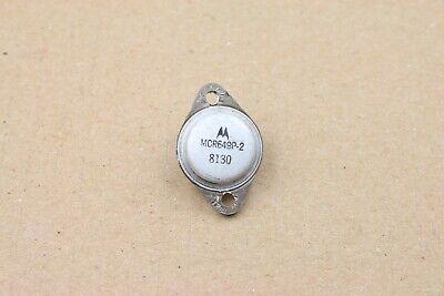 Vintage Motorola Transistor To-3 Mcr649p-2