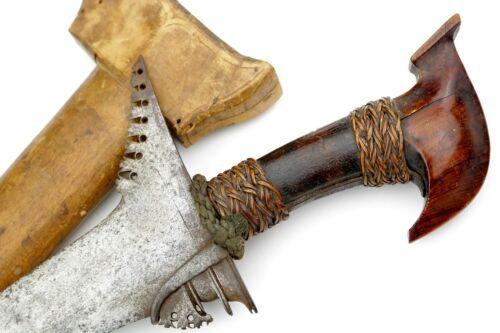 Good 19th C. Philippine Moro Battle KRIS Sword with Straight Blade.