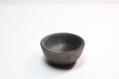 Tiny Ebony Spinning Bowl - Natural Wood Spinning, Children
