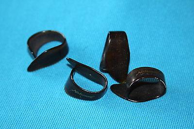 National Large Thumb Pick, Tortoise Shell, Set of 4, NP8T Large Thumb Pick