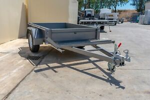 8x5 Single Axle Trailer with Bike Stand and Ramp - 1350kg ATM Pooraka Salisbury Area Preview