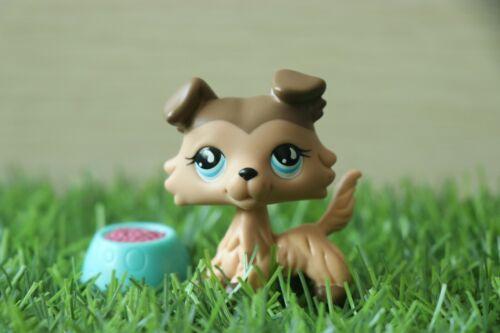 LPS Collie 893 Brown Pet Shop Dogs Figure Toy Kid
